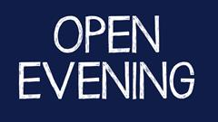 Open Night October 5th - All Welcome!