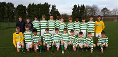 Under 15 Boys Soccer team beat Presentation Athenry