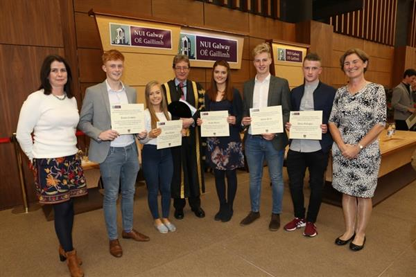 NUIG Scholarship Awards for our Calasanctius students!