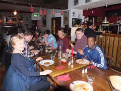 French students dine at Rouge!