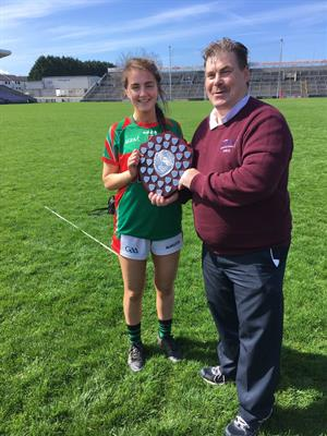 Calasanctius win U17 Girls Football Shield
