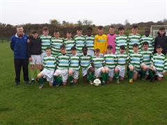 Calasanctius are First Year Soccer Connacht Champions! Well done to Noel Greaney & Ruth Broderick!
