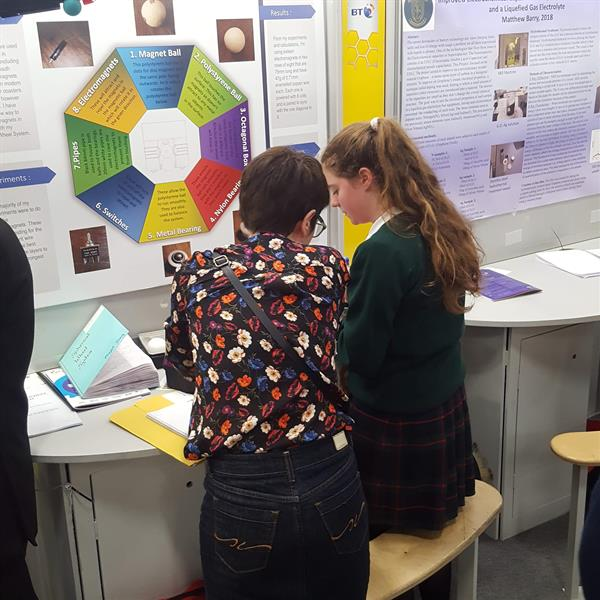 Judging Continues for Alive at the BT Young Scientist exhibition.