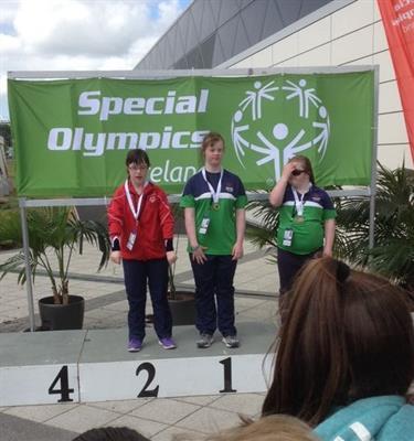 Lauren wins gold!