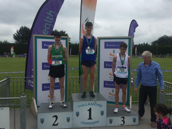 Well done to Sean Cotter on winning silver medal in All Ireland 3000m track event in June.