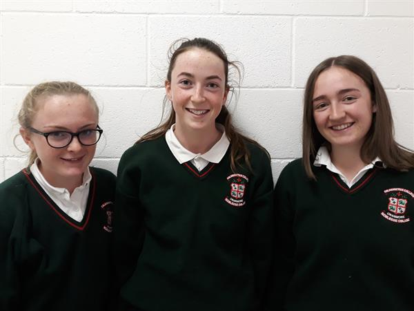 Well done to our hockey girls who represented the school on the Connacht U16 & U18 hockey teams.  This is an Interprovinvial competition held in Dublin on Friday 21st & Sat 22nd Sept.