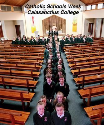 Catholic Schools Week at Calasanctius College