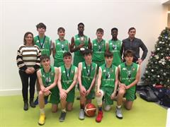 Calasanctius Boys U16A Western League Basketball Champions