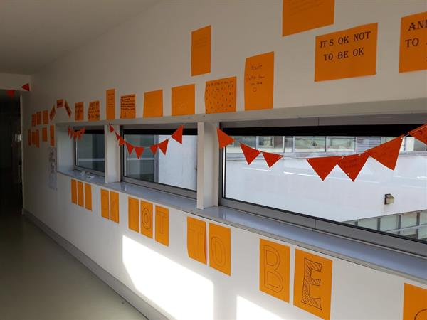 "Calasanctius College ""Goes Orange"" for Mental Health"