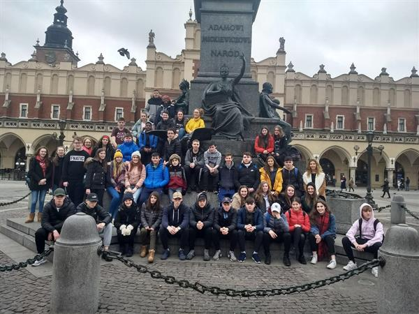 Greetings from Krakow!
