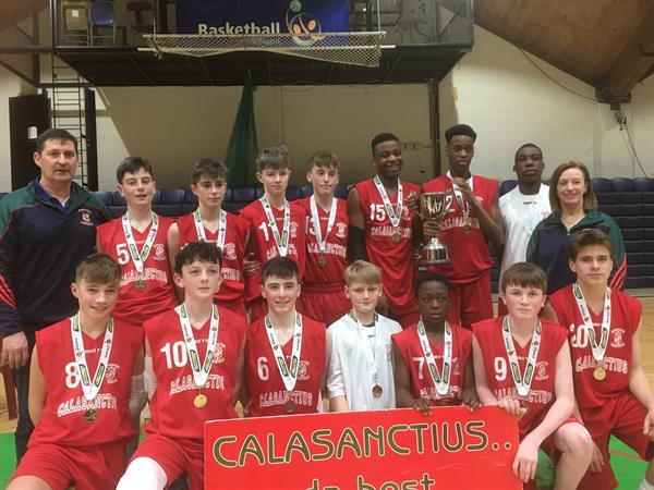 Calasanctius Wins Again! U15 A All Ireland Champs