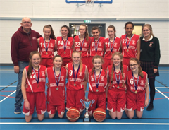 Calasanctius are Winners of 1st Year A Girls Basketball Regional Final