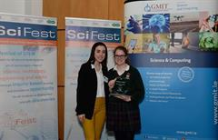 Alice Shaughnessy wins Overall Award at Galway SciFest