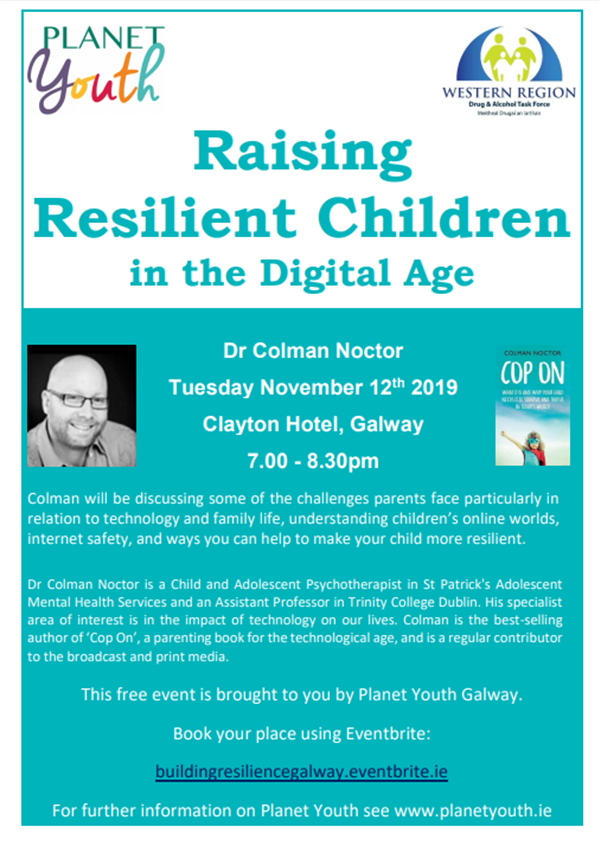 Planet Youth - Raising Resilient Children in the Digital Age