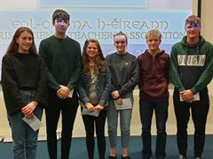 Congratulations to our two Leaving Cert teams in the Irish Science Inter School Quiz