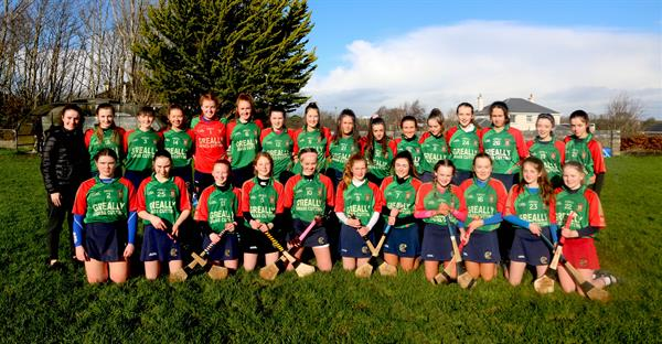 Calasanctius Senior Camogie team won the Connacht Schools C Final
