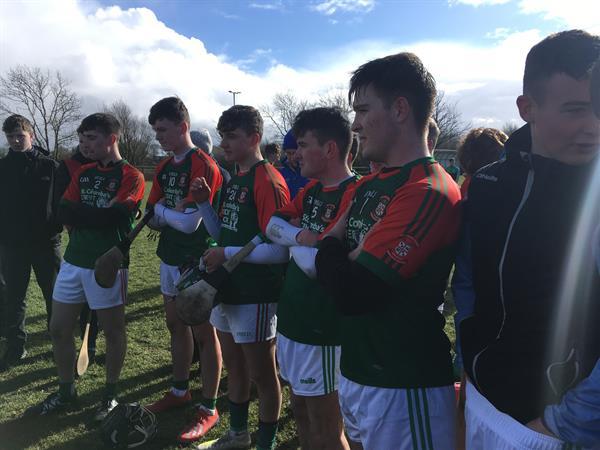 Calasanctius won the Connacht B Schools final v St Cuan's on a score of 2:11-2:8!!