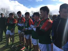 Calasanctius won the Connacht B Schools final v St Cuan's on a score of 2:11-2:8!!
