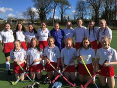 Well done to our 1st and 2nd year Hockey team who played in Sligo Grammar last week.